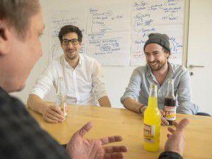 """<p class=""""caption"""">WANN & WO sprach mit den Limomachern über ihr Start-Up.</p>"""