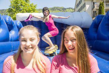 """Bei den """"mädchen*impulstagen"""" vom Verein Amazone in Bregenz gibt es für junge Frauen und Mädchen viel zu entdecken. Fotos: Sams, MiK, VLK"""