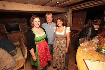 """<p class=""""caption"""">Andrea, Heinz und Petra Gorbach.</p>"""