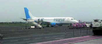 """<p class=""""caption"""">Die Altacher blieben einen Tag länger in Belgien, weil das Flugzeug eine Panne hatte.</p>"""
