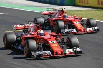 Die erste Startreihe gehört Ferrari. Foto: APA