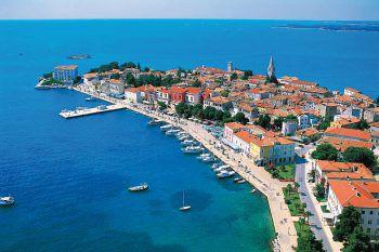 """<p class=""""caption"""">Die Stadt Poreč auf der kroatischen Halbinsel Istrien bietet zahlreiche Einkaufs-, Bade- und Flaniermöglichkeiten.Fotos: handout/High Life Reisen</p>"""
