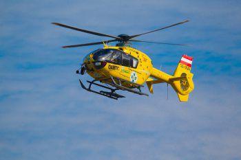 Der Verletzte wurde mit dem Hubschrauber ins LKH Feldkirch gebracht.Symbolfoto: ÖAMTC