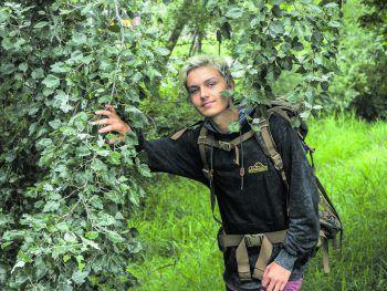 Florian Tschiderer lief insgesamt 450 Kilometer durch Österreich. Fotos: MiK/handout/privat
