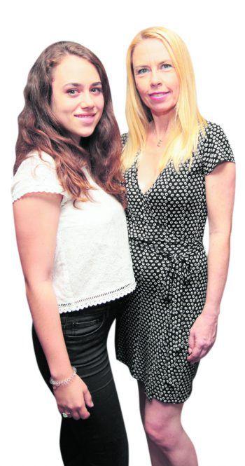 Lara und Eva Conti.