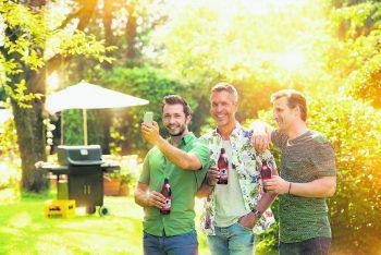 Das Mohren-Package ist perfekt für eine Gartenparty unter Freunden!