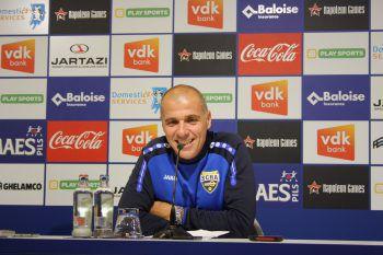"""SCRA-Trainer Klaus Schmidt: """"Sechs Pflichtspiele ungeschlagen zu bleiben, hat schon was. Ich bin mit der Leistung sehr zufrieden. Wenn wir die Chance zum 2:0 verwertet hätten, wer weiß, …"""""""