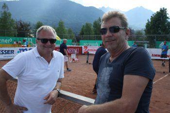 Thomas Fritz und Stefan Jutz. Fotos: Franz Lutz