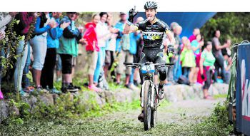 Tritt heuer wieder in die Pedale: der italienische Mountainbike-Champion Juri Ragnoli.