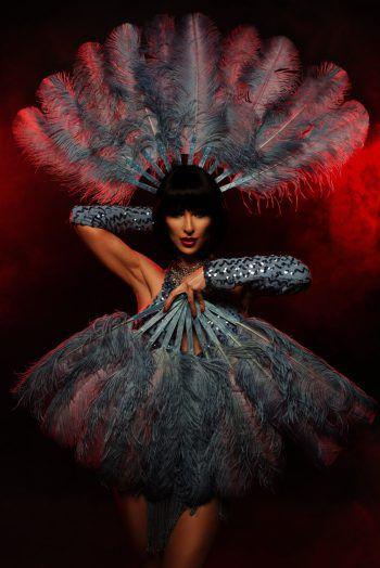 """Stilvolle Dekadenz trifft auf Akrobatik und Live-Musik – das Programm der Dinnershow """"One Night With Gatsby"""" lässt keine Wünsche offen.Fotos: handout/Nouba Events"""
