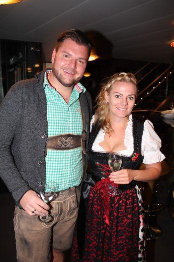 """<p class=""""caption"""">Erich und Janine Dolischka.</p>"""