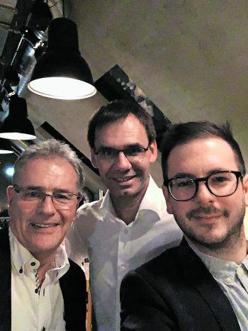 <p>Ludwig & Adele. Selfietime: W&W mit einem Abschlussfoto mit Landeshauptmann Wallner und Bundesratspräsident Mayer.</p>