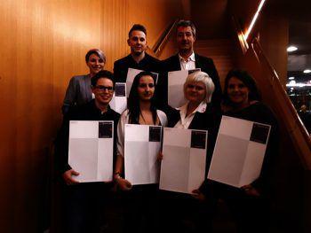 Die Führungskräfte der sieben ausgezeichneten Sutterlüty-Märkte.Foto: Sutterlüty