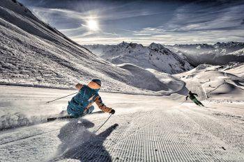 In der Silvretta Montafon kann schon seit Anfang Dezember Ski gefahren werden. Foto: handout/Silvretta Montafon/Andreas Frank