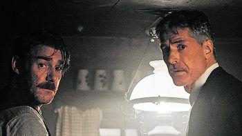"""<p class=""""caption"""">Michael-Joachim Heiss als Wilhelm Juen und Hannes Bickel als Meinrad Juen.</p>"""