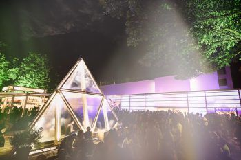 Internationale Top-Acts, Kunst und Kultur gibt es beim 25. poolbar-Festival. Foto: Matthias Rhomberg
