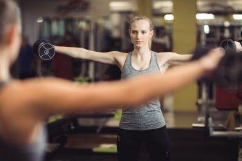 Auch die sportliche Sarah aus Hohenems weiß, wie wichtig es ist, auf die eigene Gesundheit und Fitness zu achten.Fotos: Sams