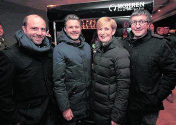 "<p class=""caption"">Christian Rehmann, Mario Oberhauser, Caroline Merlin und Hannes Hagen (Conrad Sohm).</p>"
