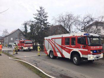Die Feuerwehren Lauterach und Wolfurt konnten den Brand rasch löschen.