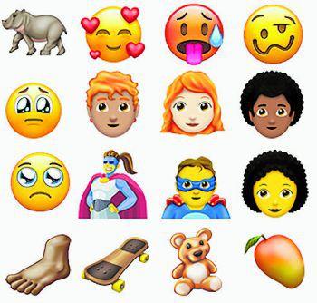 Die neuen Emojis sollen im August oder September verfügbar sein. Foto: Unicode