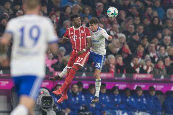 Im Schlagerspiel setzte sich der FC Bayern gestern gegen Schalke 04 mit 2:1 durch. Foto: GEPA