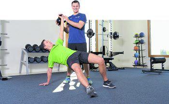 Personal Trainer Samuel Griell weiß genau, worauf es beim Training ankommt.