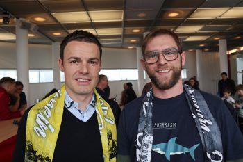 """<p class=""""caption"""">Werner Grabherr (Co-Trainer) und Martin Begle (WANN & WO).</p>"""