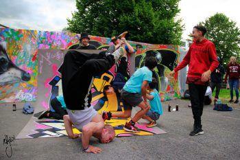 Die OJA Dornbirn steht für Begegnung, Bewegung, Musik und Spaß.Fotos: handout/OJBD