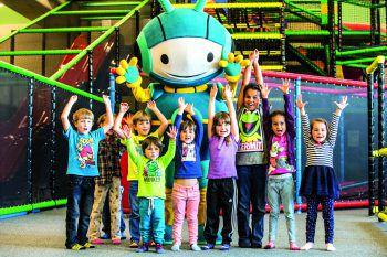 Viel Spaß: In der Spielfabrik kommen alle Kinder auf ihre Kosten.Fotos: handout/Spielfabrik