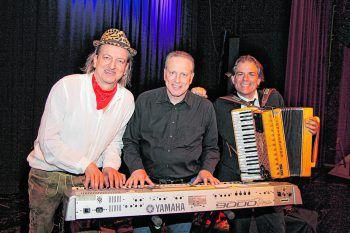 Markus Linder, Hubi Hämmerle und Hubert Trenkwalder. Fotos: Franz Lutz