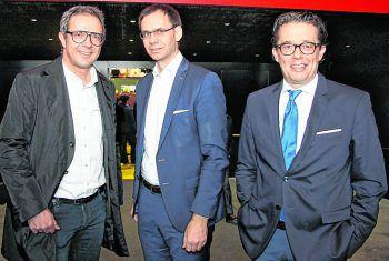 "<p class=""caption"">Prisma-GF Bernhard Ölz, LH Markus Wallner, WK-Präsident Hans-Peter Metzler.</p>"