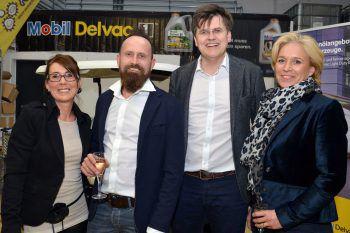 """<p class=""""caption"""">Silvia und Thomas Bilgeri mit Bernhard und Martina Feigl.</p>"""
