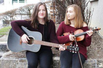 Alia und Julia machen gemeinsam leidenschaftlich gerne Musik.Fotos: handout/privat