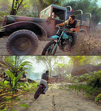 """<p class=""""caption"""">Auf der Flucht kommen verschiedene Fahrzeuge zum Einsatz.</p>"""