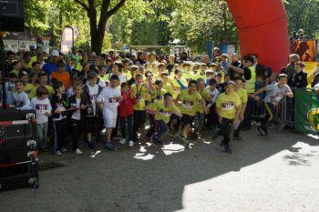 Beim Stundenlauf kommenden Sonntag kann man zur gleichen Zeit ein soziales Projekt unterstützen und die eigene Gesundheit fördern. Foto:handout/Lions Club Bregenz