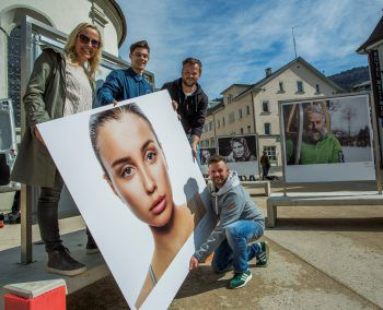 Birgit Riedmann, Raphael Sturm, Christian Schramm und Manuel Riesterer. Fotos: Siegrid Juen