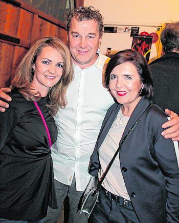"<p class=""caption"">Claudia Romagna, Gü Faigle und Manuela Podhradsky.</p>"