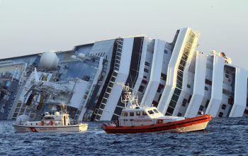 """""""Costa Concordia"""": Bei der Katastrophe starben 32 Menschen.Foto: AP"""
