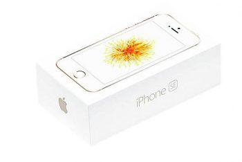 Das iPhone SE könnte bald einen Nachfolger bekommen.Screenshot: Apple
