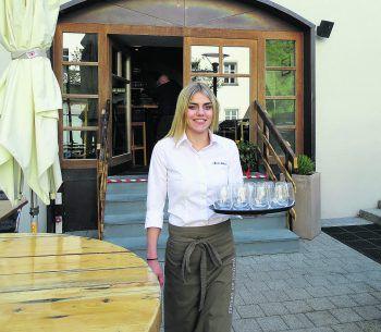 Das Stuonobach in Dornbirn: Ein guter Platz zum Feiern, zum entspannt Freunde treffen und auch zum Arbeiten. Fotos: handout/WKO, W&W/FE