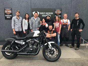 Das Team von Harley-Davidson Vorarlberg freut sich auf zahlreiche Besucher.