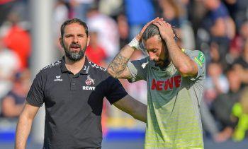 Der 1. FC Köln steht nach der knappen Niederlage in Freiburg bereits als Absteiger fest.Foto: GEPA