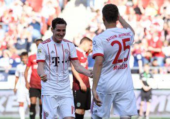 Der FC Bayern setzte vor der Champions League auf Rotation, besiegte Hannover aber locker mit 3:0. Foto: Reuters