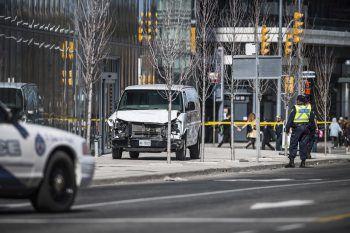 Die Amokfahrt mit dem Lieferwagen forderte Tote und Verletzte.Foto: AP