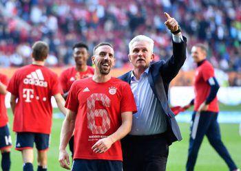 Die Bayern fixierten gestern vorzeitig ihren 28. Meistertitel.Foto: GEPA