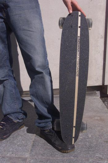 Die drei Jugendlichen wehrten sich mit ihren Longboards. Symbolfoto: MiK