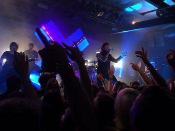 """<p class=""""caption"""">Die Metalcore-Band bei ihrem Auftritt im Prachtclub vergangenen Samstag.Fotos: W&W/Purin</p>"""