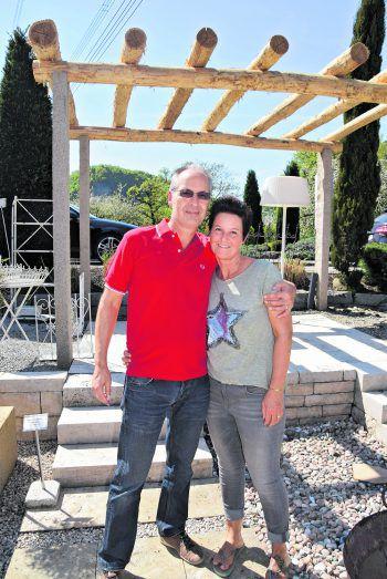 Dietmar und Bettina Huber gefiel die Gartenausstellung im Ideenpark.