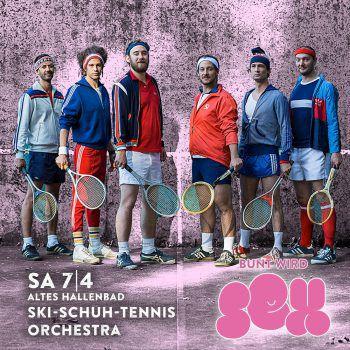 """Ein Highlight des Abends: das """"Schi-Schuh-Tennis"""" Orchestra. Fotos:handout/Bunt Bar"""