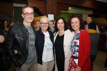 """<p class=""""caption"""">Elisabeth und Harald Brugger, Birgit Alge und Sandra Aberer.</p>"""